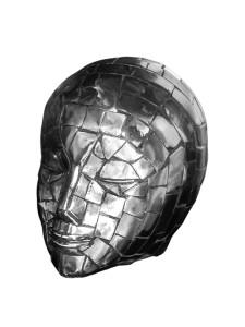 Nicole Allen - Sculpture-Mosiac-Head-Study